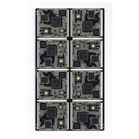 High-volume pcb manufacturer supply 8L Module board with half PTH holes