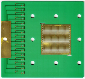 LHDPCB export FR4 3mm board with PTH step cave