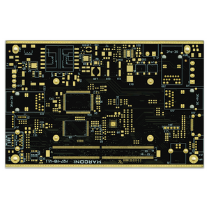 Multilayer PCB middle-volume to high-volume pcb manufacturer with matt black soldermask